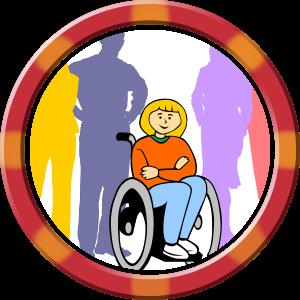 Schulunterlagen für Kinder mit Behinderung